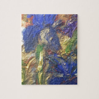 Iris Abstract Jigsaw Puzzle