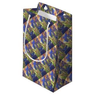 Iris Abstract Small Gift Bag