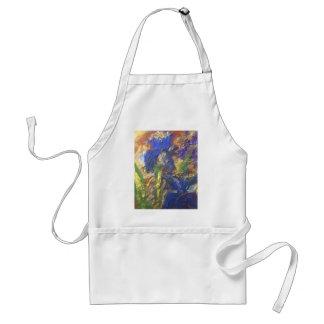 Iris Abstract Standard Apron