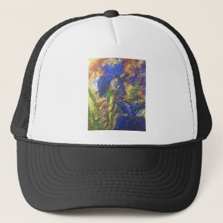 Iris Abstract Trucker Hat