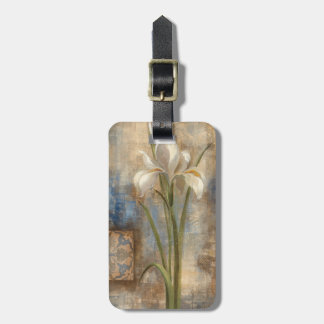 Iris and Tile Bag Tag