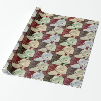 Iris Bliss Wrapping Paper