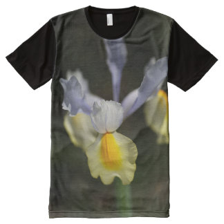 Iris Blue by bubbleblue All-Over Print T-Shirt