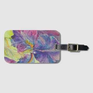 Iris Cracked Up Luggage Tag