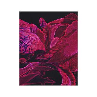 Iris Deep ______ Glow Canvas Print