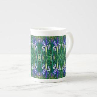 Iris Dreams Porcelain Cup