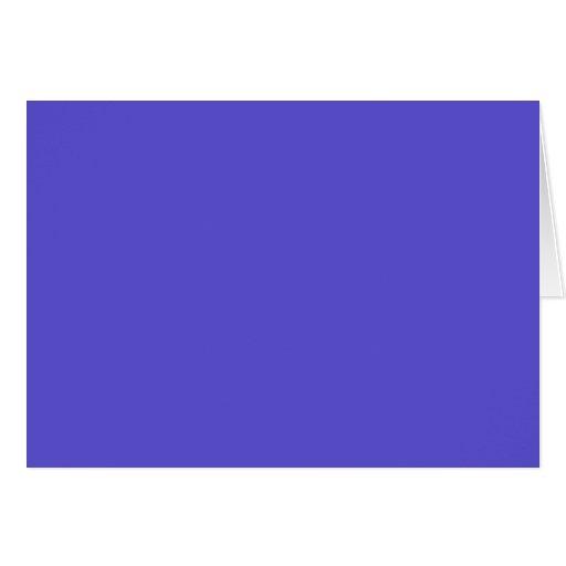 Iris Elegant Solid Colored Cards