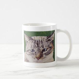Iris Face Painting Coffee Mug