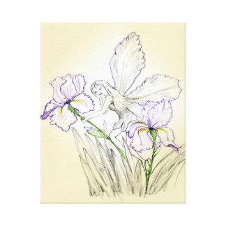 Iris Fairy Canvas Canvas Print