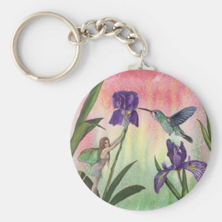 Iris Fairy Key Ring