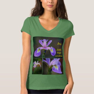 Iris faith hope wisdom T-Shirt