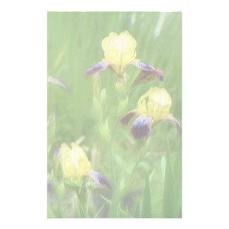 Iris Field Personalized Stationery