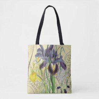 Iris Floral Fantasy 2.0 Tote Bag