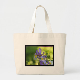 Iris flower bags