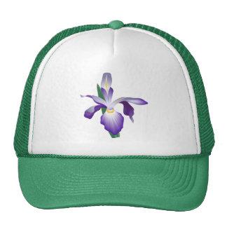 Iris Flower Cap