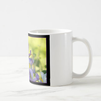Iris flower coffee mug