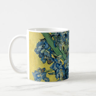 Iris flower van Gogh Coffee Mug