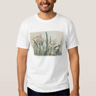 Iris Flowers and Grasshopper, c.1830-31 Tee Shirts