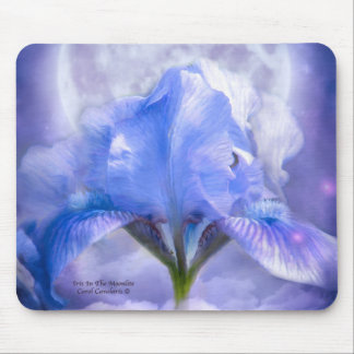 Iris In The Moonlite Mousepad
