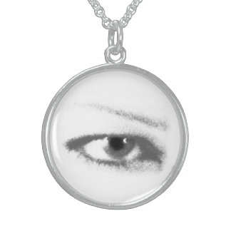 IRIS IRIS necklace med sterling b&w