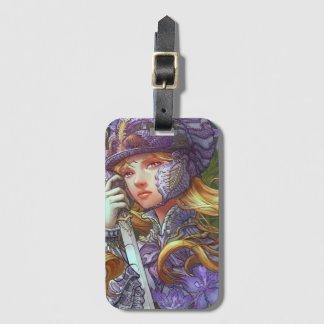 Iris Knight luggage tag