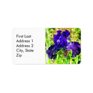 Iris Label