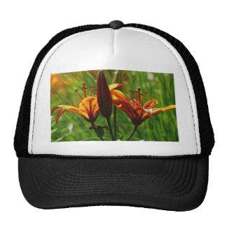 Iris, Lilly, Lily, DeepDream style Cap