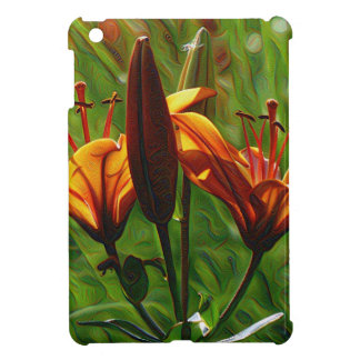 Iris, Lilly, Lily, DeepDream style Case For The iPad Mini