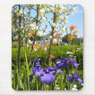 Iris N Daylilies Mousepad