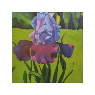 Iris Oil Painting Reproduction Canvas Print