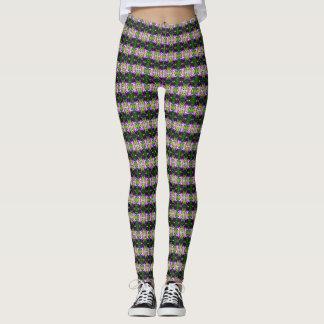 Iris pattern leggings