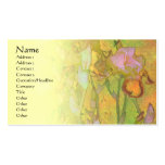 Iris Row 1 Pale Blend Profile Card Business Card Template
