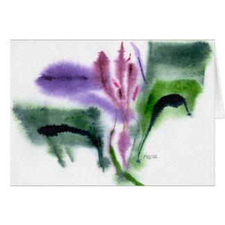 Iris, Small, Notecard