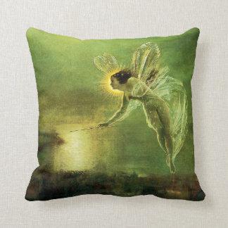 Iris, Spirit of the Night Throw Pillow