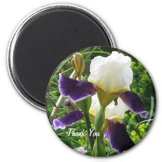 Iris Thank You Magnet