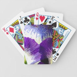 Iris Unfolding Bicycle Playing Cards