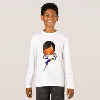 IRISCA&IBAIGO t-shirt illustration soccer