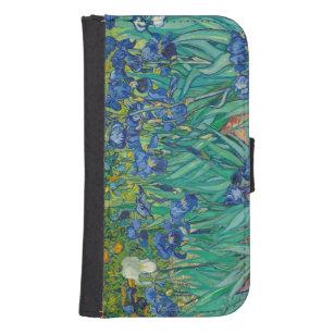 Irises, 1889 samsung s4 wallet case