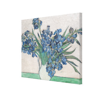 Irises, 1890 canvas print