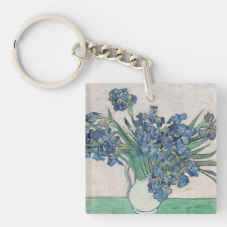 Irises, 1890 key ring