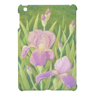 Irises at Wisley Gardens, Surrey in Pastel iPad Mini Cases