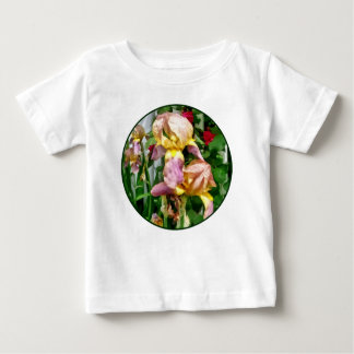 Irises By Picket Fence Baby T-Shirt