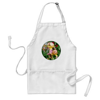 Irises By Picket Fence Standard Apron