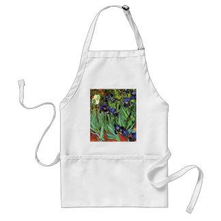 Irises by Van Gogh Fine Art Aprons
