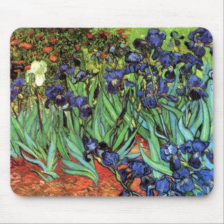 Irises by Van Gogh Fine Art Mouse Pads
