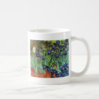 Irises by Van Gogh Fine Art Coffee Mug