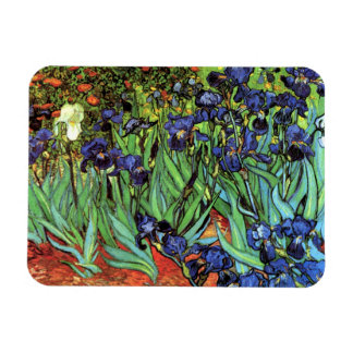 Irises by Van Gogh Fine Art Photo Magnet