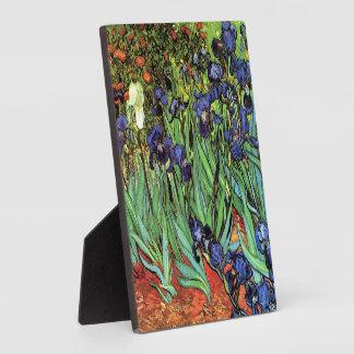 Irises by Van Gogh Fine Art Photo Plaque