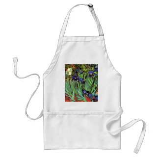 Irises by Van Gogh Fine Art Standard Apron