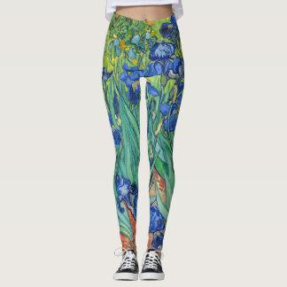 Irises by Van Gogh Leggings